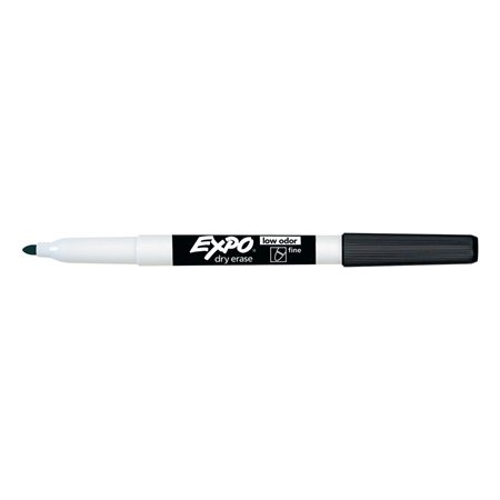 Expo® Low Odour Dry Erase Whiteboard Marker Fine. black