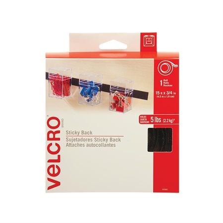 Ruban autoadhésif Velcro® noir