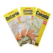 Cartes routières Canada bilingue