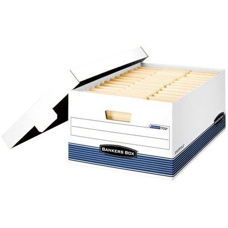 """Boîte d'entreposage Stor / File™ Légal. 15 x 24 x 10""""H. Empilable jusqu'à 700 lb."""