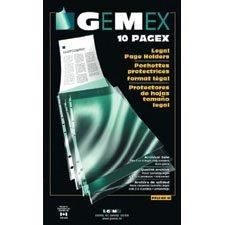 """Pochette protectrice transparente Pagex™ Format légal. Épaisseur supérieure 0,003"""". boîte de 100"""