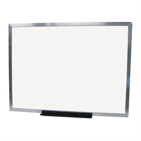 Economy Dry Erase Whiteboard with Aluminum Frame
