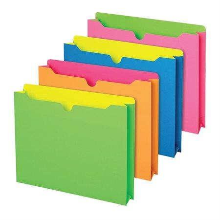 Neon File Jackets