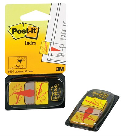 "Post-it® Icon Flags ""Signature"""