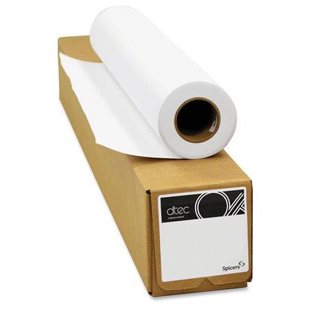 """Papier bond jet d'encre AQ Dtec 24"""" largeur"""