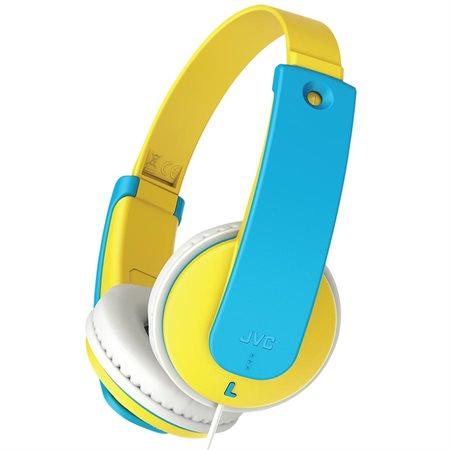 Casque d'écoute pour enfant jaune