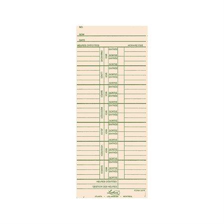 39FR Time Cards
