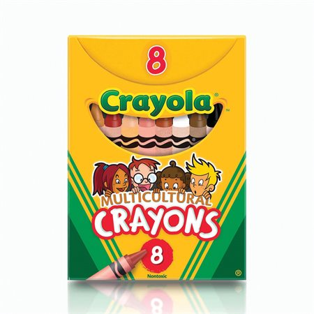 Multicultural Wax Crayons