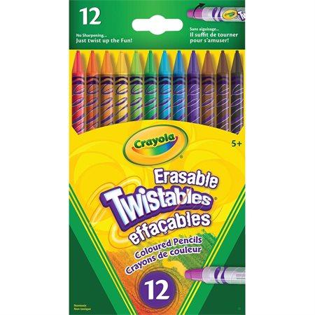 Crayons de couleur effaçables Twistable®