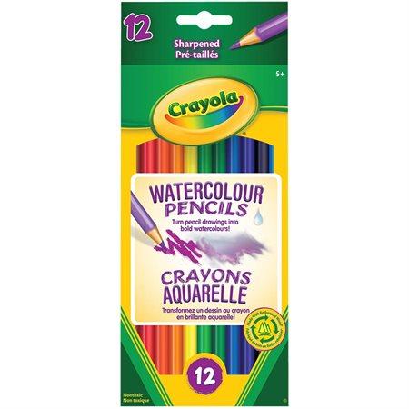 Crayons pour aquarelle