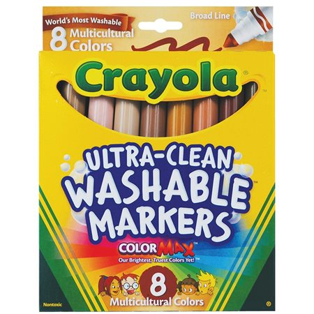 Multicultural Colouring Markers