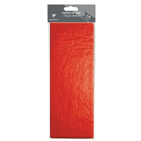 Papeir de soie rouge