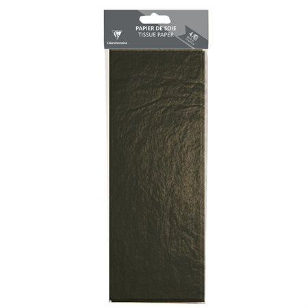 Papeir de soie noir