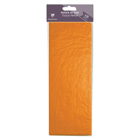 Papeir de soie orange