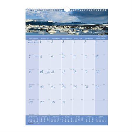 World Scenes Wall Calendar (2022)