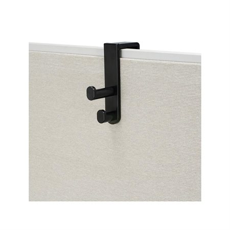 Partition Panel Double Hook