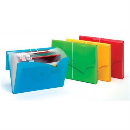 Classeur expansible à 13 pochettes Colorwave