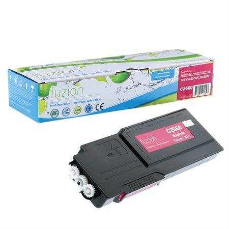 Cartouche de toner compatible Dell C2660 / C2665 magenta