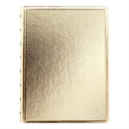 Cahier de notes Filofax® Patterns doré