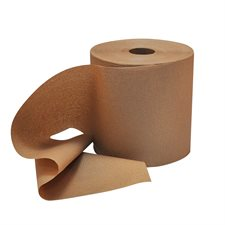 "Pur Econo Hand Towel Rolls 8"" x 600'. 1.75"" core. Box of 12. kraft"