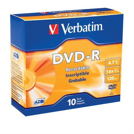 Disque inscriptible DVD-R 16x