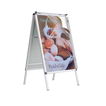 Porte-affiche de plancher Improv™ A-Frame