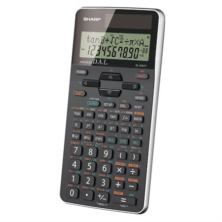 Calculatrice scientifique EL546XTBSL