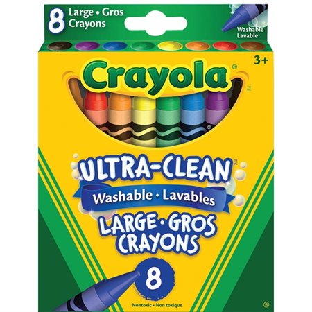 Ultra-Clean™  Wax Crayons