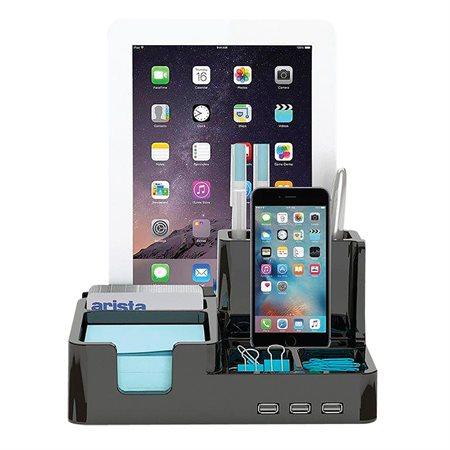 All-In-One Desk Organizer & Docking Station