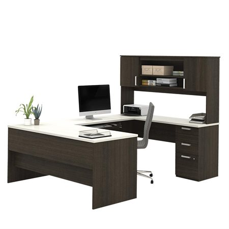 Ridgeley U-Shaped Workstation