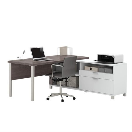 Pro-Linea L-Shaped Workstation