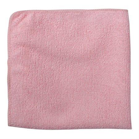 Chiffon en microfibre rose