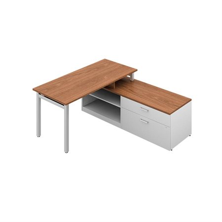 Ionic MLP238 L-Shaped Workstation