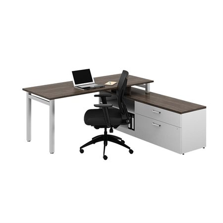 Ionic MLP514 L-Shaped Workstation