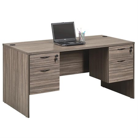 Lodi TYP4 Double Pedestal Desk
