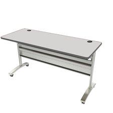"""Table de conférence Tucana Dessus de table rectangulaire,60 x 24"""" gris"""