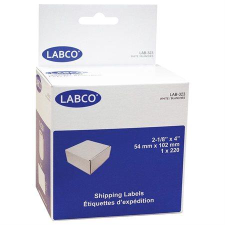 """Étiquettes compatibles pour imprimante à étiquettes Expédition 2-1 / 8 x 4"""" (220)"""