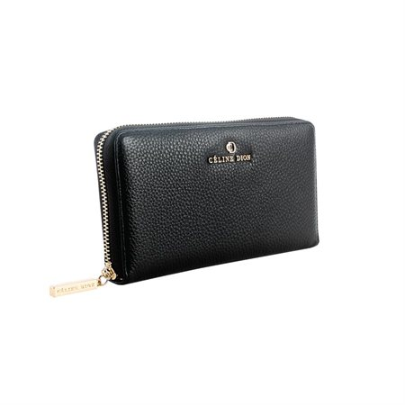 Porte-monnaie Céline Dion noir