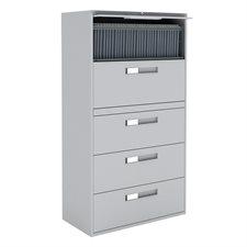 Classeurs latéraux Fileworks® 9300 5 tiroirs gris