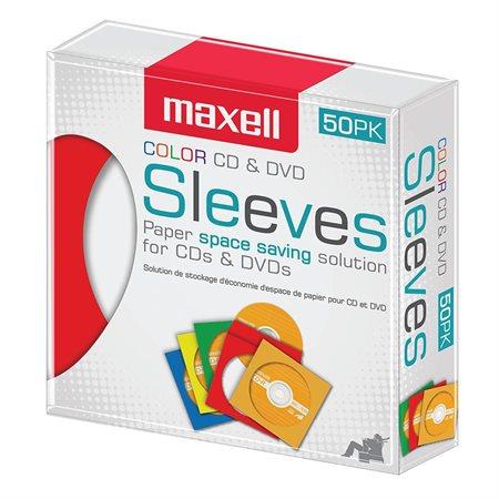 Enveloppes à fenêtre pour CD