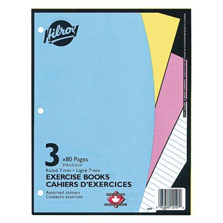 Cahier d'exercices ligné