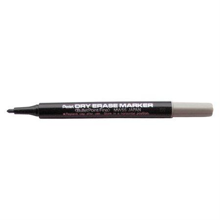Crayons à pointe fine effaçables à sec noir