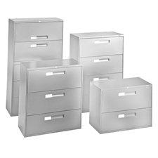 Classeurs latéraux Fileworks® 9300 2 tiroirs gris