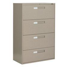 Classeurs latéraux Fileworks® 9300 4 tiroirs nevada