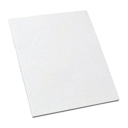 Bloc de papier blanc uni À l'unité 8-3 / 8 x 10-7 / 8 po