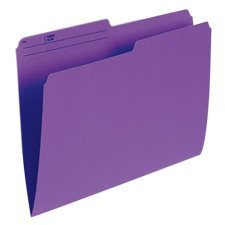 Reversible Coloured File Folders