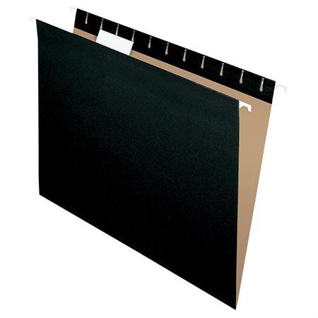 Dossiers suspendus Format légal noir