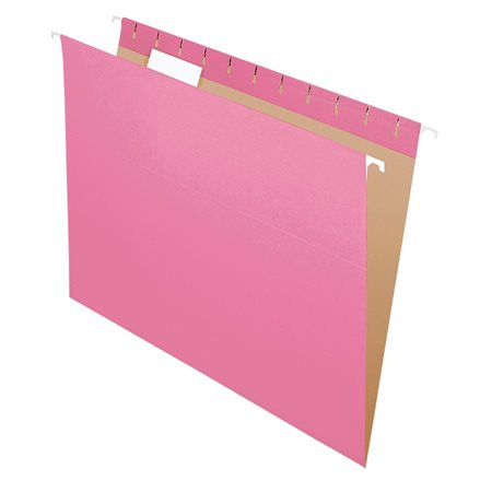 Dossiers suspendus Format lettre rose