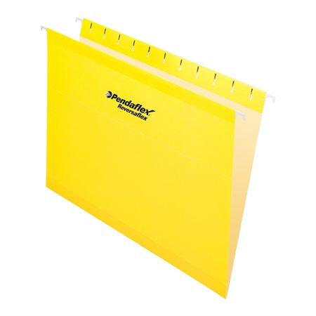 Dossiers suspendus Reversaflex® Format lettre jaune