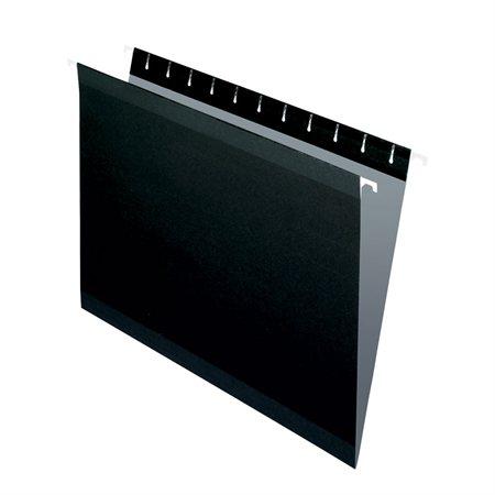 Dossiers suspendus Reversaflex® Format lettre noir